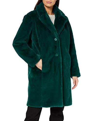 Naf Naf Birhapso Abrigo de Piel sintética, EPICEA, 38 para Mujer
