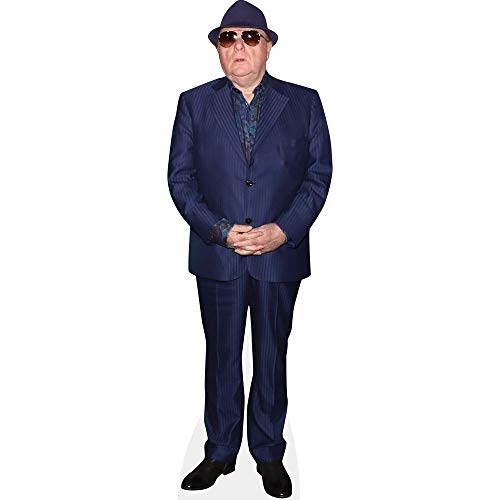 Celebrity Cutouts Van Morrison (Blue Suit) Pappaufsteller Mini