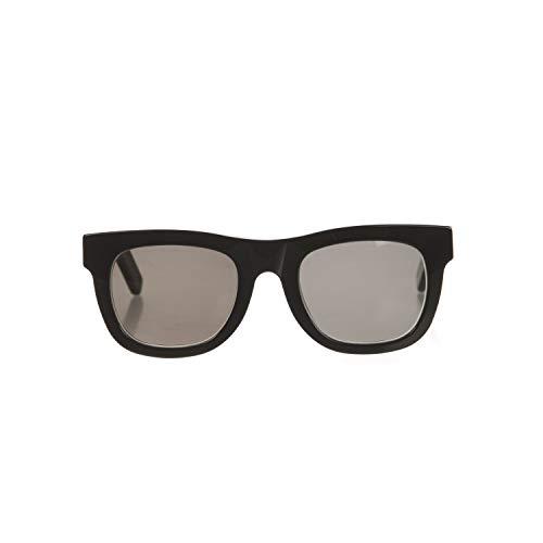 Sunglasses Super by Retrosuperfuture Ciccio Black 457 Regular R 50 22 145 NEW