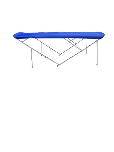 Best Deals! NorthStar Pontoon Bimini Top 12' Long Sunbrella Pacific