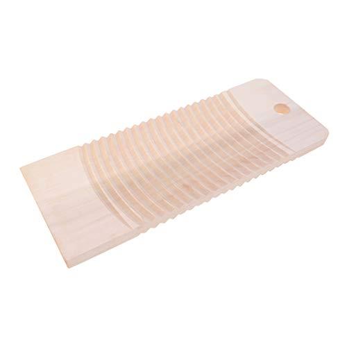 TOPBATHY Handgefertigtes Waschbrett aus Massivholz zum Waschen von Händen zu Hause (Carbonisierungsprozess)