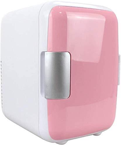 WXCCK Mini 4L Nevera Maquillaje Capas Refrigeradores De Doble Uso, Dos Nevera...