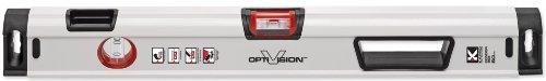 Kapro 905-41 Condor - Livella professionale con fiala Optivision Red e Plumb Site Dual View, 48-Inch, 1