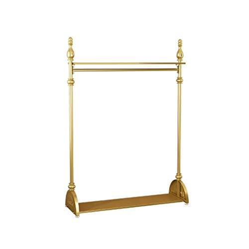 Hallway Furniture AOYANQI-Percheros Ropa de Metal Rack, de Mujeres de Oro Tienda de Ropa de Vestir Chaqueta del Soporte de exhibición Bastidores Coat multifunción Verticales Multiusos