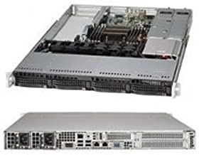 Supermicro SuperServer SYS-5017R-WRF LGA2011 500W 1U Server Barebone System (Black)
