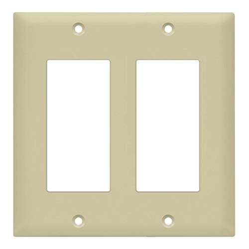 Ivory Decorator Wall Plate - 1