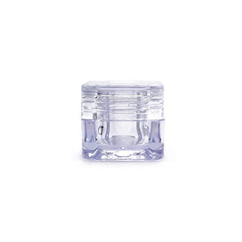25 STÜCKE 5 ML 0,17 UNZE Transparent Acryl Quadratische Augencreme Flasche Gesichtscreme Creme Box...