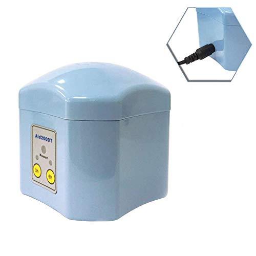 LCZ La Limpieza De Audífonos Y Secado Automático del Horno De Secado Deshumidificador Más Seco Regular De Cuidado De La Audición Po Electrónica,Azul