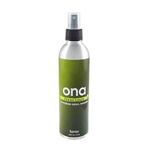 ONA Spray Fresh Linen Geruchsneutralisierer 250ml Lufterfrischer Raumduft Raumspray