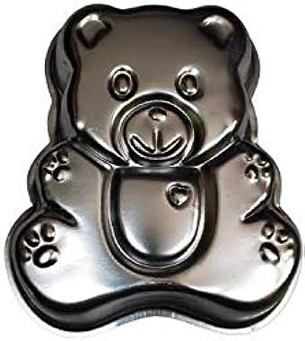 Royale Mesum Aluminium Cake Mould Pans Teddy Bear Medium for 1/2 Kg Cake