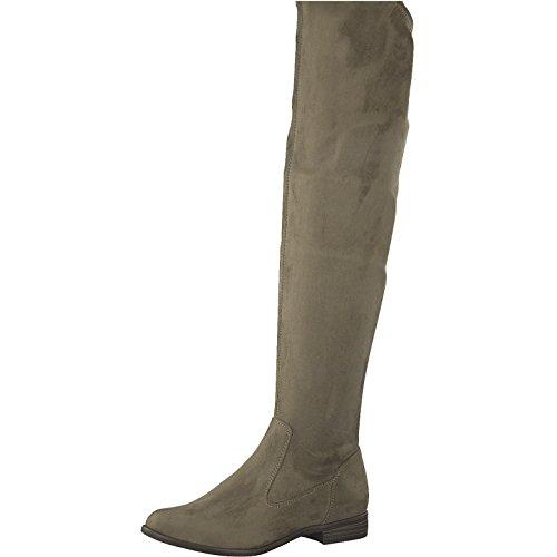 Tamaris 1-1-25569-39 Dameslaarzen, Overknee, boot, winterlaarzen, herfstschoen voor de modebewuste vrouw, functionele ritssluiting