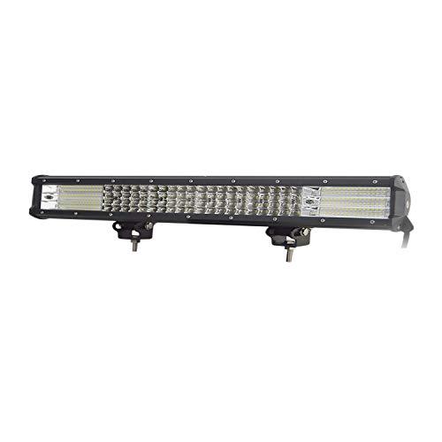 17 pollici 43 cm 450W 9D Quad Row Bar a LED combinato con barra luminosa LED Staffa di guida di lavoro Offroad Luci per ATV UTV SUV SKYWORLD Barra luminosa a LED