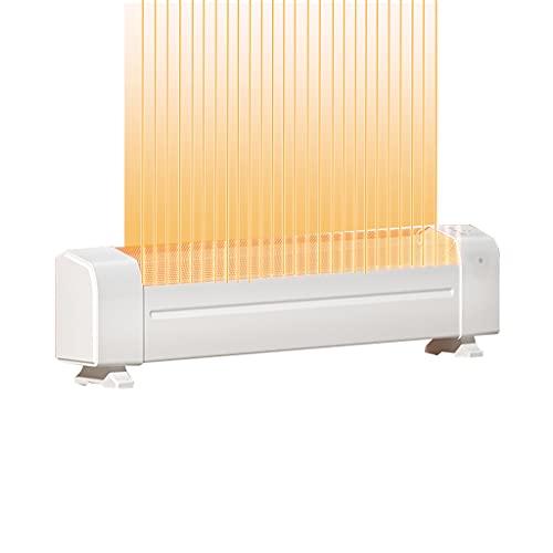 Convection Heaters Yxx@ Stufetta Elettriche Termoventilatore Portatile Termostato Termoconvettore Riscaldamento Riscaldamento Rapido per Casa Ufficio Soggiorno Bagno