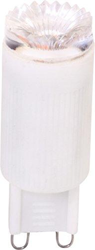 MÜLLER-LICHT 400134 A+, LED-Leuchtmittel, Plastik, 3W, G9, Weiß, 5.8 x 1.8 x 5.8 cm