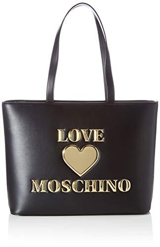 Love Moschino Precollezione SS21 | Borsa Shopper da Donna, Spalla, Nero, Normal