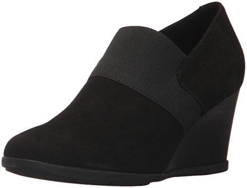 Geox D Inspiration Wedge A, Zapatos de Tacón para Mujer, Negro (Black), 37.5 EU