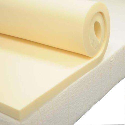 Memory Foam Mattress Topper Soft and Comfortable 1 Inch ((Small Double 120 cm x 190 cm))