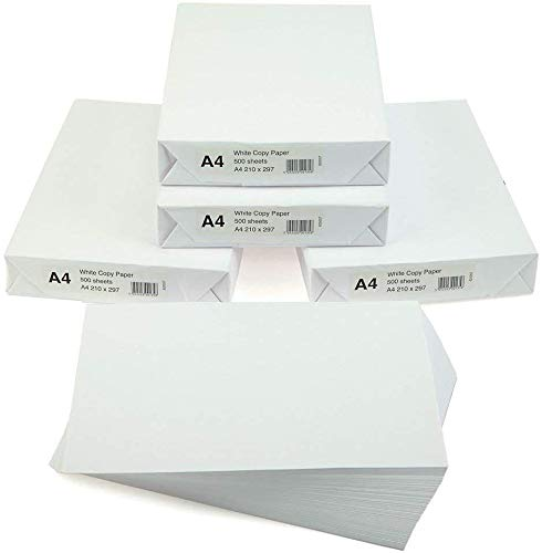 FancyPoint Box of A4 Office White Printer Copier Paper 5 Reams of 500...
