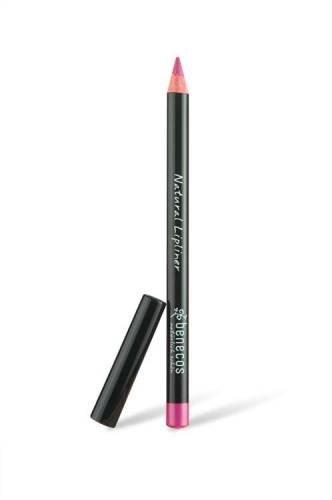 BENECOS - Crayon à Lèvres Naturel - Rose - pour un Contour Parfait - Contient de la Vitamine E et la Cire d'Abeilles - Sans Parfum ni Talc - Certificat BDIH et Cruelty Free - 1 gr