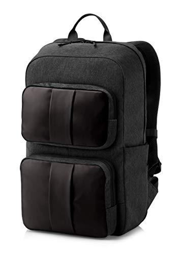 """HP - PC Lightweight zaino per Notebook fino a 15,6"""", Scomparto Computer o Tablet Dedicato, 3 Tasche ad accesso rapido e 8 nascoste, resistente all'acqua, spallacci imbottiti, nera"""