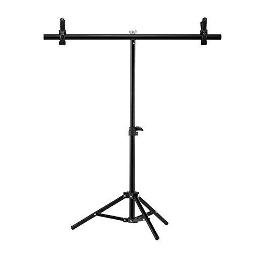 Selens 60x40-75cm Soporte Support Stand Retráctil con Clips y Bracket para Fondo Background Fotografía