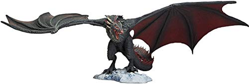 Juego de Tronos Drogon Deluxe Box, negro