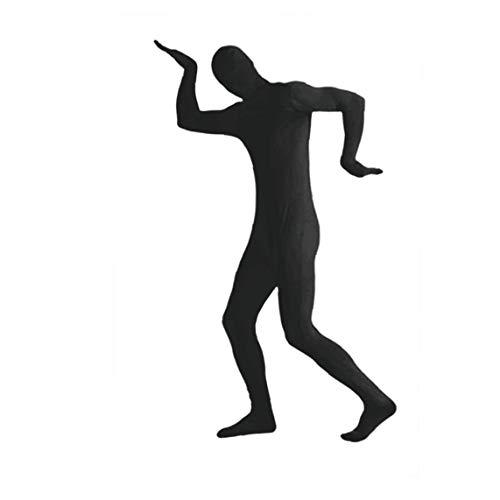MICHAELA BLAKE Disfraces de Halloween Mostrar Spandex Body de cuerpo entero Zentai spandex ceñido traje de cuerpo completo juegos de Lycra Disfraz Negro XXL