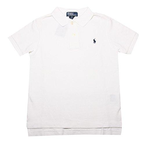 Ralph Lauren Jungen Poloshirt Classic, Weiß, Größe 116