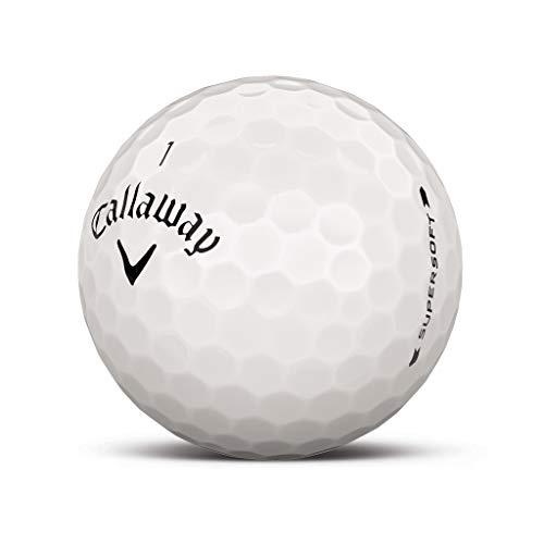 Callaway Supersoft 2019 Bola de Golf - Impreso Personalizado con su Imagen de Texto o Logo (12 Bolas)