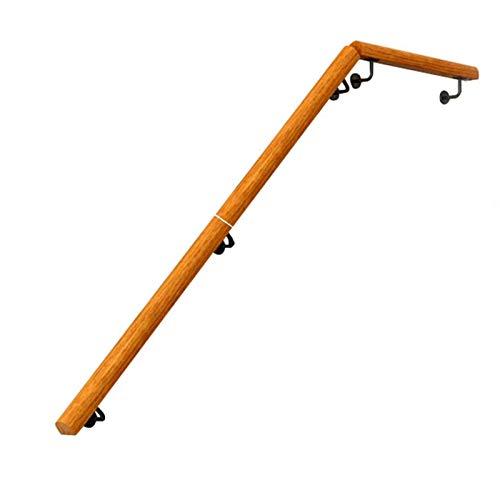 KUNYI Startseite Treppen Geländer, Massivholz-Wände Anti-Rutsch älterer Anti-Sturz-Kindergarten Treppen Korridor Korridor Geländer (Size : 80cm)