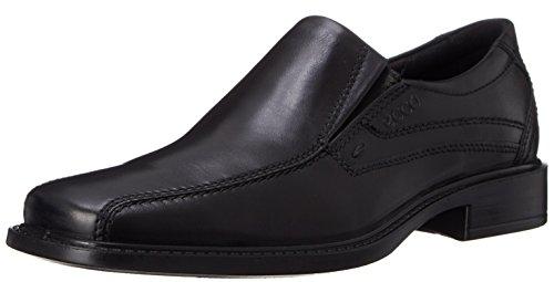 ECCO Men's New Jersey Slip On, Black, 44 EU (10-10.5 M US)