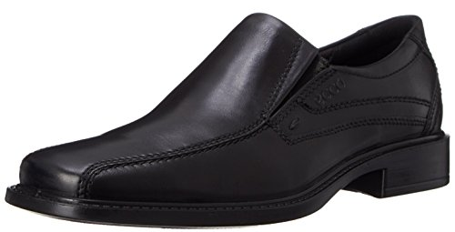 ECCO Men's New Jersey Loafer,Black,43 EU (US Men's 9-9.5 M)