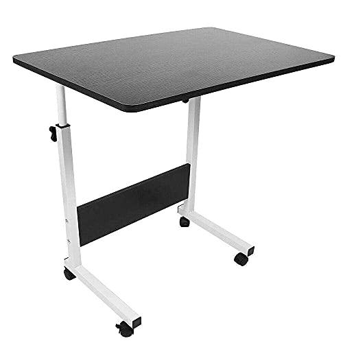 Multifunktionellt hopfällbart bord, hopfällbart datorskrivbord på sängen, justerbar bärbar dator bärbar dator rullbord skrivbordsstativ hopfällbart bordsstativ för bärbar dator litet skrivbord stativ för skrivbord litet bord laptop cooli
