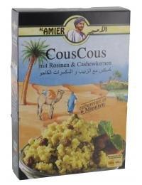 Al Amier CousCous mit Rosinen & Cashewkernen 200 g