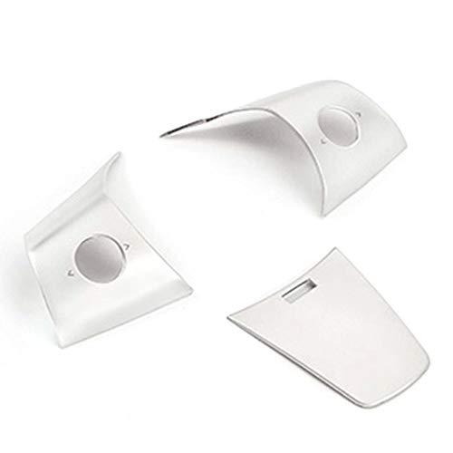 Katurn Button Box Aufkleber - Lenkradknöpfe Dekoration Aufkleber Innenmodifikation Zubehör Für Tesla Model 3