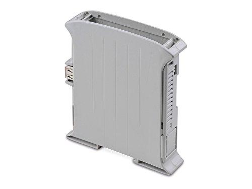 Markenlos Hutschienen-Gehäuse für Raspberry Pi Model B, Kit 22,5 (10.001225.RPI)