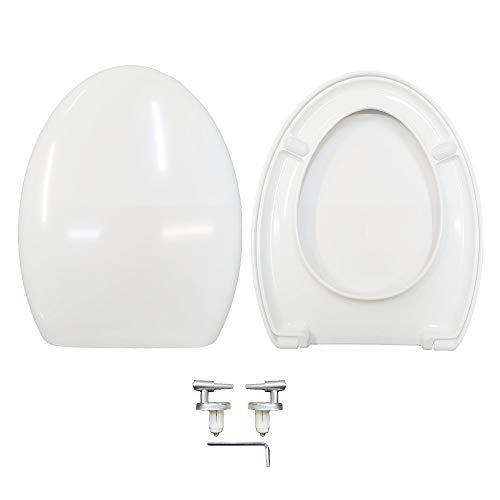 Copriwater Sedile Wc compatibile con Novella Dolomite termoindurente avvolgente bianco by HYDRO HOME