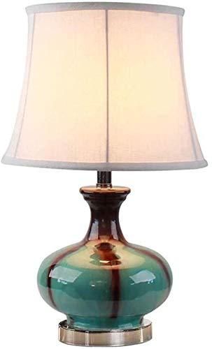 Mini New Chinese Tischlampe Schlafzimmer Nachttischlampe Keramik Tischlampe...