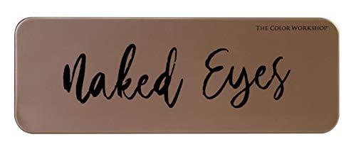 Markwins Essentials Naked Eyes - Paleta de Sombras de Ojos - Paleta con 12 Sombras de Ojos Naturales - Set de Maquillaje Profesional - California Collection - Kit de Maquillaje para Mujeres