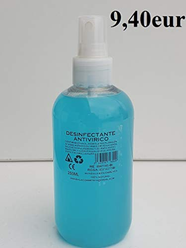 SPRAY ANTIVIRICO DESINFECTANTE 250ML 100% Natural