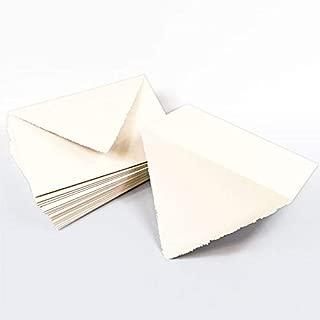 A7 Wedding Cream Deckle Edge Envelopes - Colors Matt, 91T, 25 Pack