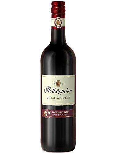 Rotkäppchen Qualitätswein Dornfelder halbtrocken (1 x 0,75l)