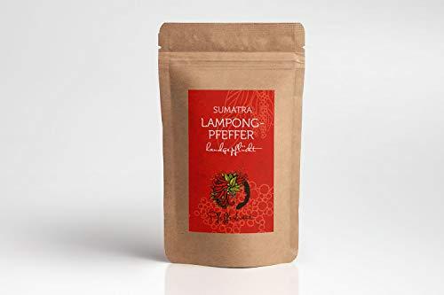 90 g Pfefferbraut Sumatra Lampong-Pfeffer, Lampung-Pfeffer - piper Nigrum - schwarzer Pfeffer - vollmundig & scharf