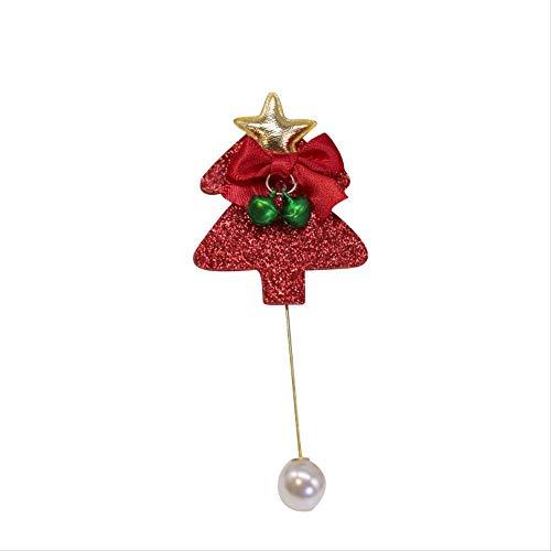 Leuke Elk Kerstboom Leuke Cap Broche Kerstmis Cadeau Cartoon Trui Vest Pin Accessoires 4 * 2Cm