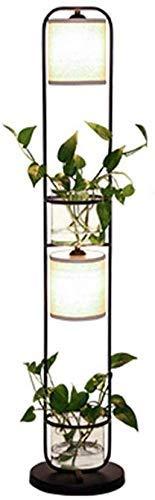 DXXWANG Lámpara de pie, luces decorativas para lectura, 1,25 m, sala de...