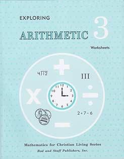 Rod & Staff Grade 3 Math: Student Supplemental Worksheets