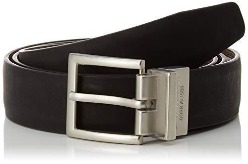 Springfield Cinturon Pu Reversible-c/30, Marrón (Dark_Brown 30), 95 (Tamaño del fabricante: 95) para Hombre