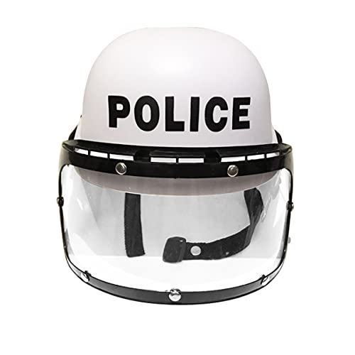 IMIKEYA Casco de Policía Sombrero de Policía Accesorio de Disfraz de Oficial de Policía Casco de Policía Juego de Disfraces para Juego de rol Cosplay Juguete Ropa de Vestir