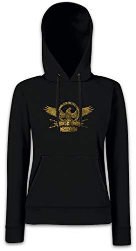 Urban Backwoods Roman Eagle Dames Hoodie Hooded Sweatshirt Met Capuchon