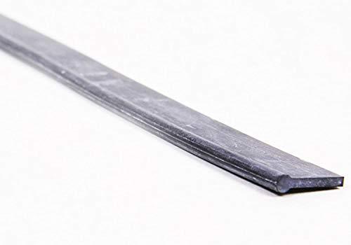 Ersatz-Wischergummi für Profi-Fensterabzieher von LEWI (35 cm) | Gummi-Lippe mit Überstand + robustes Hartgummi + leichter Austausch + streifenfreie Fensterreinigung | inkl. Gratisprobe GlasRein